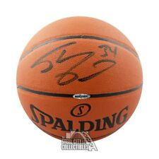 Shaquille O'Neal Autographed Spalding Baskeball - Upper Deck COA