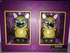 "Si and Am from Lady and the Tramp 3"" Vinylmation Villainous Duos Set 2 LE 1500"