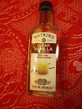 Watkins 11 oz clear vanilla