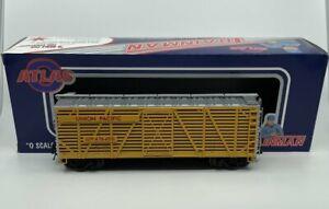 Atlas 0609-2 O Gauge Union Pacific 40' Stock Car [3Rail] LN/Box