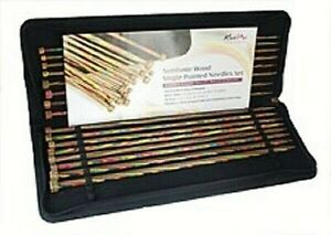 Knitpro Symfonie Wood Single pointed Knitting Needles set