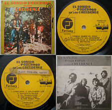 """CREEDENCE CLEARWATER REVIVAL (NO """"GREEN RIVER"""") 1975 MEGARARE CHILEAN PRESS ONLY"""