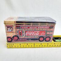 Coca-Cola Coke Delivery Truck Box Vintage 1993 Collectors Tin