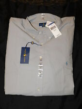 New Men's Polo Ralph Lauren L/S Classic Button Down Shirt XXXL 3XB Big