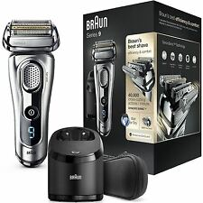 Braun Series 9 9290cc Mens Electric Foil Shaver Trimmer Wet&Dry + Charge Station