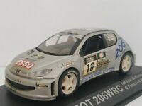 1/43 PEUGEOT 206 WRC 2000 PANIZZI RALLYE RALLY COCHE METAL IXO ESCALA DIECAST