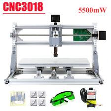 CNC3018 5500mW DIY CNC Router Kit 2-In-1 Mini Lasers Engraving Machine GRBL L5H5