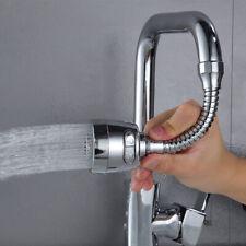 360 Degree Tap Faucet Water Bubbler Flexible Tap Head Filter Spray Nozzle Health