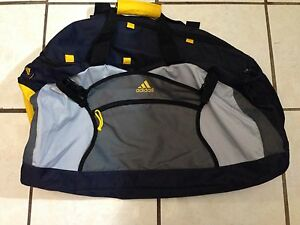 Addidas Duffle Bag Navy/Gray/Yellow