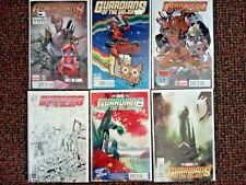 Guardians of the Galaxy variants comic lot