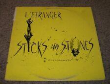 Sticks And Stones L'Etranger~RARE 1986 Private Label Pop Rock EP~FAST SHIPPING!