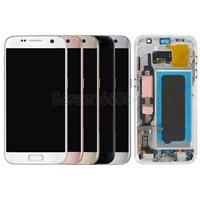 Lcd Display Touch Screen Schermo Vetro+Telaio Per Samsung Galaxy S7 SM-G930F New