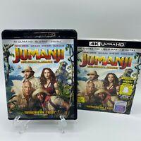 Jumanji: Welcome to the Jungle (4k Ultra HD, Blu-ray) With Slipcover Sleeve