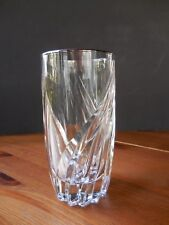 LENOX CRYSTAL HIGHBALL GLASS DEBUT PLATINUM SIGNED DISCONTINUED PATTERN