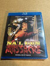Nail Gun Massacre Blu Ray Code Red Horror Slasher Original Uncut New Sealed
