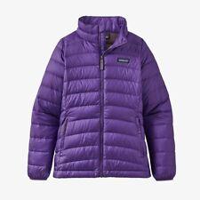 Nwt Patagonia Down Sweater Girls Xxl 16-18 Purple Puffer 68231 Mag