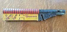 1930's MARX TIN MAR TOY G MAN GUN BARREL VINTAGE PITINA MACHINE GUN LOUIS MARX