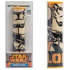 Star Wars - Soldado Clon Cargador Batería Portátil - Nuevo Y Oficial Lucasfilm