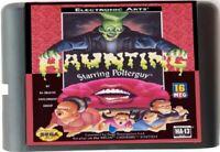 Haunting Starring Polterguy (1994) 16 Bit Sega Genesis / Mega Drive System