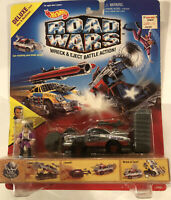 HOT WHEELS ROAD WARS CRASH  Maniax King Chrome DELUXE SCALE NEW!