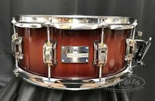 Odery Snare Drum Eyedentity 6x14 Nyatoh Wood Shell in Red River