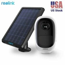 Rechargeable/Solar-Powered Wifi IP Security Camera HD 1080P Reolink Argus Pro
