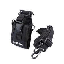 MSC-20A for Motorola Kenwood Walkie Talkie Holder Pouch Case Bag 2 Way Radio US