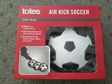 Indoor Air Hover Soccer Ball with Bumpers Home Kids Toy Soft Foam Floating Ball