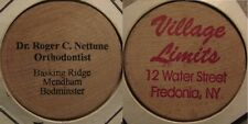 ERROR Dentist Basking Ridge, NJ / Village Limits Fredonia, NY Wooden Nickel
