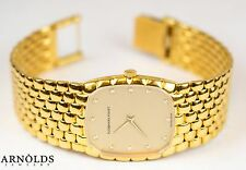 Vintage Audemars Piguet Solid 18k Gold Men's Mechanical 27mm Watch