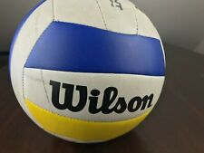 WILSON Outdoor Official Volleyball MATCHPOINT Soft Play Technology White Yellow