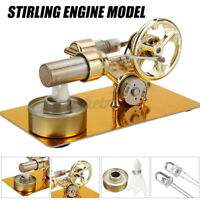 Stirling Engine Model Heat Steam Experiment Tools Kids Physics Educational Toy