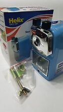 Helix A5 Desktop pencil sharpener in BLUE with  5 settings