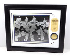 1961 Yankees Infield Signed Photo with Coin Highland Mint Matted Framed DA025196