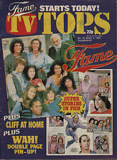 TOPS TV Magazine No.79  9 April 1983   Wah!   Eddy Grant    Cliff Richard