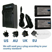 2x Battery + CHARGER for Sony NP-FH50 DSLR a290 a330 a390 NPFH50 NP-FH30 NP-FH40