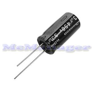 33uF 450V Electrolytic Radial Capacitor 105°C 16x26mm Tolerance 20% Pitch 7mm