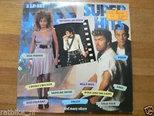 LP RECORD VINYL SUPER HITS 3 LP SET TINA TURNER MICHAEL JACKSON WHAM FALCO ABBA