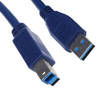 USB3.0 A Male AM to USB 3.0 B Type Male BM Extension PrinRGS