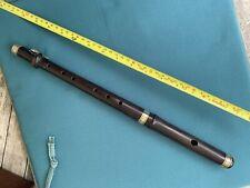 More details for antique wooden 1 key piccolo, flute fife irish folk whistle flageolet recorder