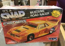 Mustang Road Racer SNAP Model Kit 1/32 scale Molded New Old Stock Vintage AMT