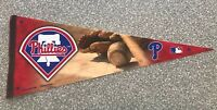 "LARGE 30"" 2009 PHILADELPHIA PHILLIES PENNANT."