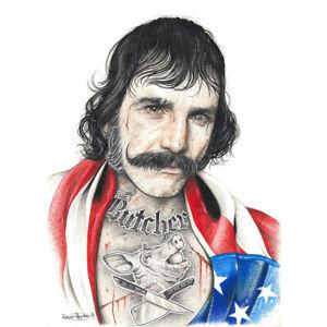 Wayne Maguire Tattooed Bill the Butcher Inked Ikon Art Print Poster