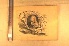ALBERT HALLER GRAVURE ORIGINALE L. JOUBERT LYON MEDECINE ANATOMIE
