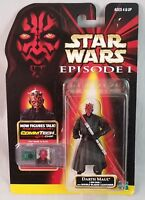 Star Wars Episode I Darth Maul Action Figure with CommTech Chip Hasbro 1998