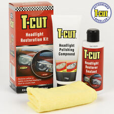 T-Cut Headlight Restoration Kit Restores Yellow & Scratched Headlamps