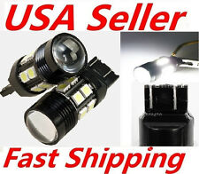 2X White T20 7443 10W Cree Q5 Projector 12SMD 7440 LED Reverse Brake Tail Light
