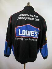 E8902 VTG CHASE LOWE'S JIMMIE JOHNSON NASCAR Racing Jacket Size M