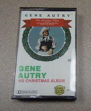 His Christmas Album - Gene Autry (Cassette)