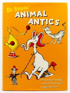 Dr. Seuss' Animal Antics  3 Story Books in 1